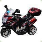 Электромобиль-мотоцикл Bambi F938 Черный (M0565/F938-2)
