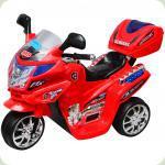 Электромобиль-мотоцикл Bambi F938 Красный (M0566/F938-3)
