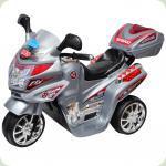 Электромобиль-мотоцикл Bambi F938 Серый (M0567/F938-11)