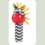 Игрушка-пищалка Зебра (від 3 міс.)