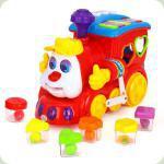 Игрушка-сортер Huile Toys (HOLA) Паровозик (556)