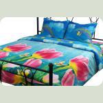 Комплект постельного белья Тюльпаны