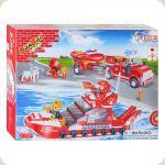 Конструктор Banbao Пожарная техника (8312)