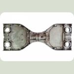 Корпус:Сигвей Металлический корпус на гироборд мини сигвей 6,5 дюймов