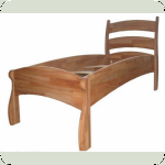 Кровать Буковка Б07 (бук) 206х86см