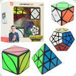 Кубик EQY527 4шт(5,5-5,5см и 9-9см), в кор-ке, 20-20-8см