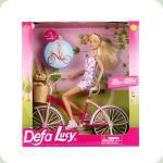 Кукла «Defa» на велосипеде