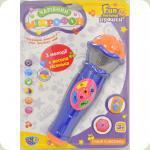 Микрофон Limo Toy 7043 UA Синий