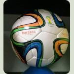 Мяч футбольный BRAZUСA B34002-W  белый