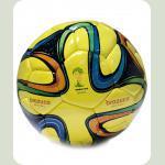 Мяч футбольный BRAZUСA B34002-Y желтый