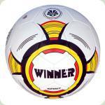 Мяч футбольный WINNER Spirit № 5  бело-желтый