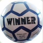 Мяч футбольный WINNER Super Light  № 4 бело-синий