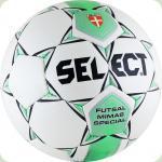 Мяч футзал SELECT Mimas  ФФ  бело-зеленый