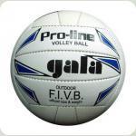 Мяч волейбол  GALA  белый