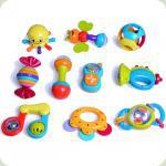 Набор погремушек Huile Toys (HOLA) 10 шт. (939)