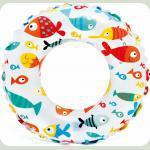 Надувной круг Intex Цветной Рыбки (59241)