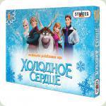 Настольная игра Strateg Бродилки Холодное сердце (060)