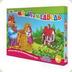 Настольная игра Strateg Бродилки Маша и Медведь (183)