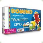 Настольная игра Strateg Домино Транспорт мира (678)