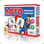 Настольная игра Strateg Лото Удивительные супер герои (166)