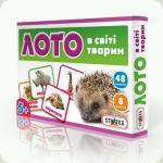 Настольная игра Strateg Лото В мире животных (160)