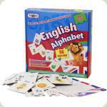 Обучающие пазлы Strateg Английская азбука (539)