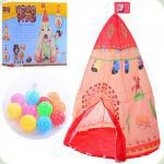 Палатка Bambi Вигвам с шариками (M 3367)