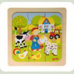 Пазл деревянный goki Ферма 57499-1