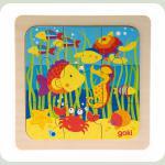 Пазл goki деревянный Море 57499-4