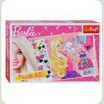 Пазл Trefl Barbie Модная икона 60 элементов (17224)