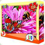 Пазлы Leo Lux Бабочка 120 элементов (351)