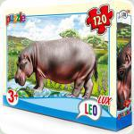 Пазлы Leo Lux Бегемот 120 элементов (351)