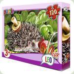 Пазлы Leo Lux Ежик 120 элементов (351)