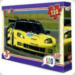 Пазлы Leo Lux Гоночная машина 120 элементов (350)