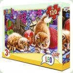 Пазлы Leo Lux Котята 120 элементов (351)