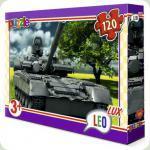 Пазлы Leo Lux Танк 120 элементов (350)