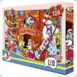 Пазлы Leo Lux Теремок 120 элементов (353)