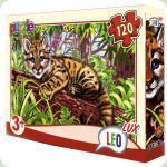 Пазлы Leo Lux Тигр 120 элементов (351)