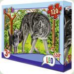 Пазлы Leo Lux Волк 120 элементов (351)