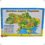 Плакат Світогляд Дитяча карта України, укр. (12104102У)