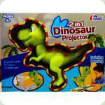 Проэктор Динозавр 2 в 1 6618