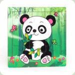 Рамка-пазл мини Панда