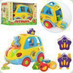 Развивающая игрушка Joy Toy Автошка (9198)