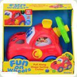 Развивающая игрушка Keenway Машинка-сортер (31540)