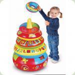Развивающая игрушка Play Wow Большая пирамида с обучающими кольцами (3028PW)