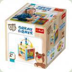 Развивающая игрушка Trefl Great Crate (60924)