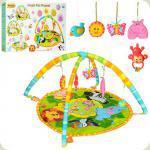 Развивающий коврик для младенца WinFun Jungle Pals Playmat (0827-NI)