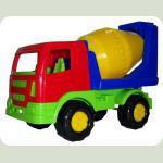 Салют, автомобиль-бетоновоз