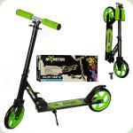 Самокат Profi Monster Inline Scooter Green (SR 2-010)