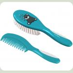 Щëтка и расчëска для волос BabyOno Мягкая Синий (570)
